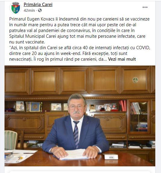 Primarul evazionist din Carei, propaganda sistemului și ascunderea efectelor adverse