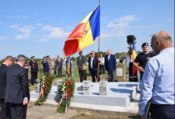Comemorarea românilor căzuți în luptele de la Moftin și Sânmiclăuș pentru eliberarea patriei. VIDEO