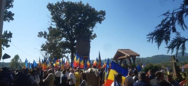 Comemorarea lui Avram Iancu la Țebea. Spectacol folcloric interzis