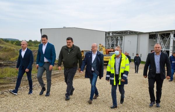 Un ministru UDMR a venit la Satu Mare ca să asiste la recepția unei celule pentru deșeuri