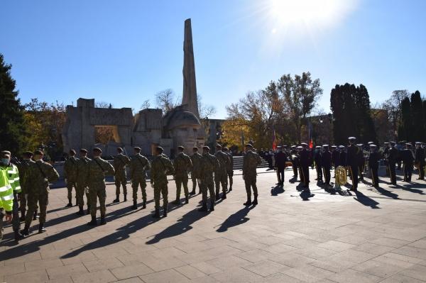 Ziua Armatei marcată anost la Carei. VIDEO