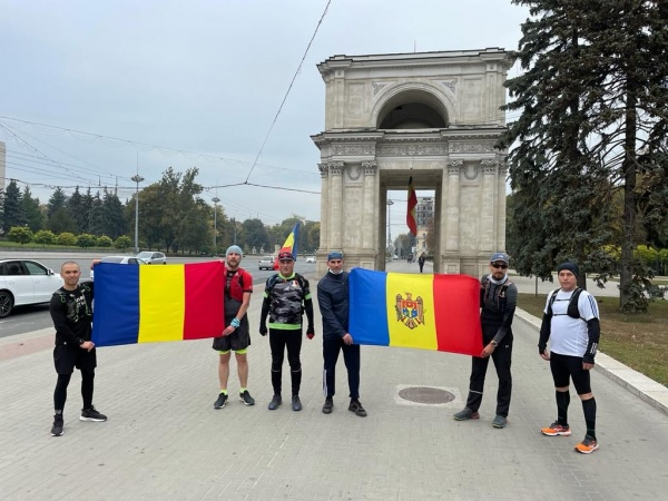Stafeta roșie a pornit de la Chișinău către Carei